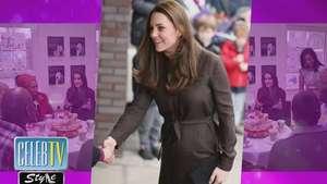 Kate Middleton ya siente las patadas de su bebé Video: