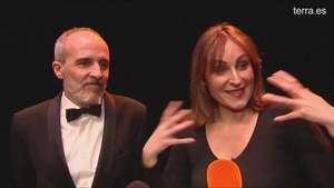 Ana Milán y Fernando Guillén Cuervo vuelven al teatro donde se enamoraron Video: