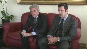Figo se presenta a presidir la FIFA Video: