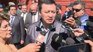 Secretario de Gobernación visita hospital infantil siniestrado en México Video: