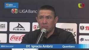 Jornada 4,  Ignacio Ambríz, Querétaro 0-1 Santos, Clausura 2015 Video: