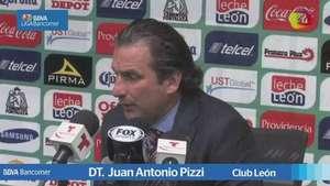 Jornada 4, Juan Antonio Pizzi , León 1-1 Chiapas, Clausura 2015 Video: