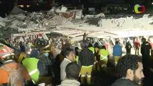Así quedó el Hospital Infantil de Cuajimalpa tras explosión Video:
