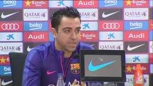 Xavi lamenta que resultados cambien todo en el Barcelona Video: