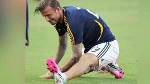 La hija de Beckham dice que su padre está gordo Video:
