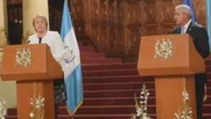 Chile ofrece a Guatemala su experiencia en minería y energía Video: