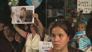 Hallan sólo ADN de Nisman en arma que lo mató Video: