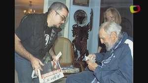 Cuba publica fotos de Fidel Castro Video: