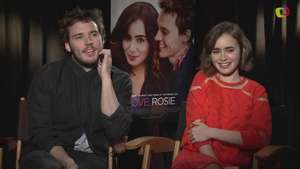 Qué es lo peor que sucede a Lily Collins y Sam Claflin en 'Love, Rosie'? Video: