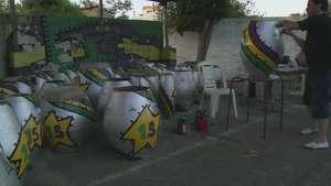 Tambores a punto para el carnaval de Uruguay Video: