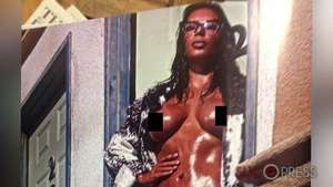 Kim Kardashian sin pudor, así su desnudo frontal Video: