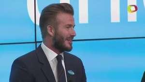 Beckham lanza la fundación '7' Video: