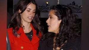 Penélope Cruz y Salma Hayek cenan con Tom Cruise Video: