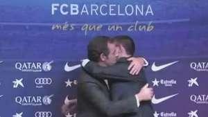 Presidente del Barça culpa a predecesor Video: