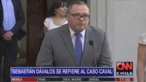 Así fue la renuncia del hijo de la Presidenta Bachelet Video: