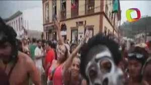El carnaval callejero de Sao Luiz de Paraitinga, de lo más esperado Video: