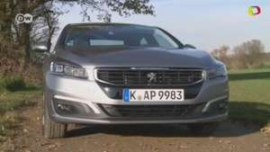 Peugeot 508 sedán, de prueba Video: