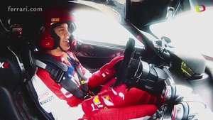 Video: Sebastian Vettel en el Ferrari FXX K Video: