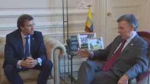 Galicia estrecha lazos comerciales con Colombia Video: