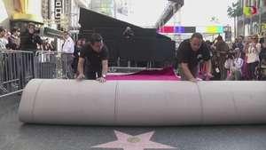 La alfombra roja está lista para los Óscar Video: