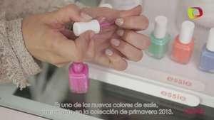 Tutorial de uñas: cómo hacer un manicure french pastel Video: