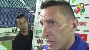 'Chaco' Giménez dice que a Cruz Azul le falta ser 'matón' Video: