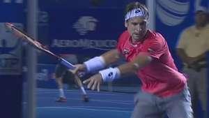 Ferrer sufre al eliminar a Matosevic en el Abierto Mexicano Video: