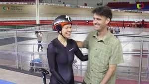 Van Houweling bate tres récords en México Video: