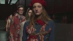 Gucci arranca la Semana de la Moda de Milán Video: