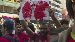 Venezuela: Protesta por muerte de adolescente Video: