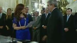 Nuevo jefe de Gabinete en Argentina Video: