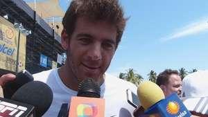 Del Potro desea final Nishikori vs Ferrer en Abierto Mexicano Video:
