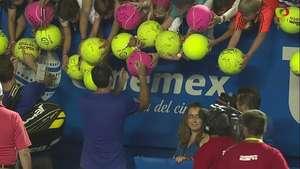 Público supera a Sharapova gracias a 'Santi' y Mariusz Video: