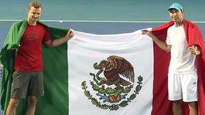 Santi González llega a su primera final del Abierto Mexicano Video: