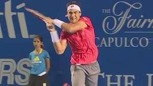 Ferrer va a la final del Abierto Mexicano contra Nishikori Video: