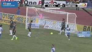 Jornada 8, Puebla 4-1 Querétaro, Clausura 2015 Video: