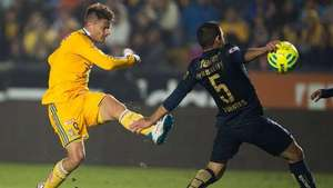 Jornada 8, Tigres 3-0 Pumas, Liga Mx, Clausura 2015 Video: