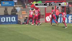 Jornada 8, Toluca 1-0 Cruz Azul, Clausura 2015  Video:
