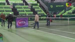Lluvia cancela jornada en el Abierto de Tenis Monterrey Video: