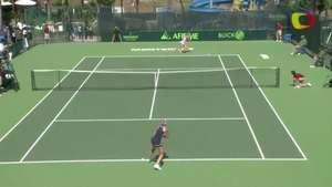 Bacsinszky gana en primera ronda en Abierto de Monterrey Video: