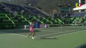 Sin problemas Sara Errani triunfa en torneo de Monterrey Video: