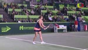 Pavlyuchenkova inicia con triunfo en Monterrey Video: