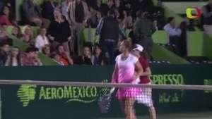 Sara Errani cobra revancha ante Timea Babos en Monterrey Video:
