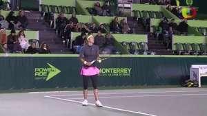 Caroline García califica a cuartos de final en Monterrey Video: