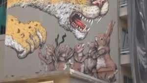 Manifiesto MX plasma realidad de México en murales callejeros Video:
