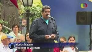 Homenaje de Maduro a Chávez en aniversario Video: