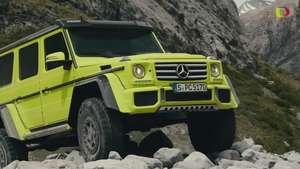 Video Ginebra 2015: Mercedes-Benz G 500 4x4² Video: