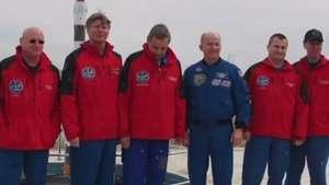 Viajarán al espacio durante 342 días en misión récord Video: