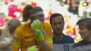 Mundial Femenino: Elimina Inglaterra al anfitrión Video: