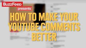 Cómo mejorar tus comentarios en YouTube Video: